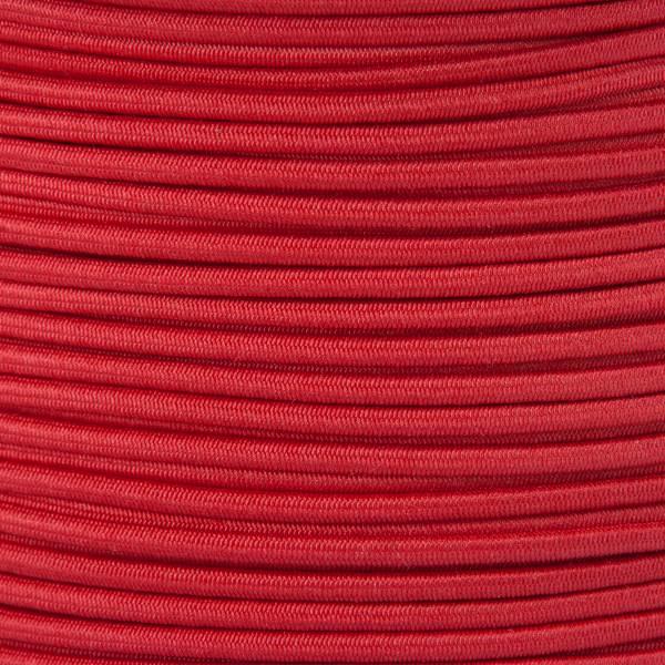 Gummikordel - Hutgummi - Rundgummi, hochwertig, extra-stark in 2mm, rot