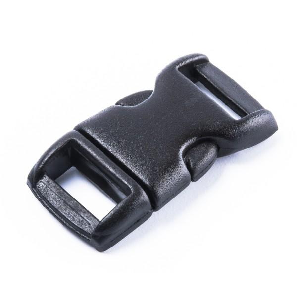 """Mini-Steckschnalle, Schnalle """"SL"""" für 11mm Gurtband oder Paracord"""