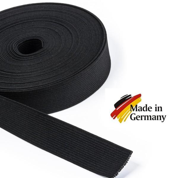 Hochwertiges Elastikband, Hosenband, Gummiband, Flachgummi 25mm