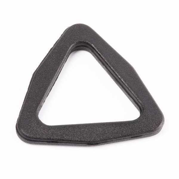 """Stabiler Kunststoff-Dreieck-Ring/Triangel """"TR"""" für 25mm Gurtband"""