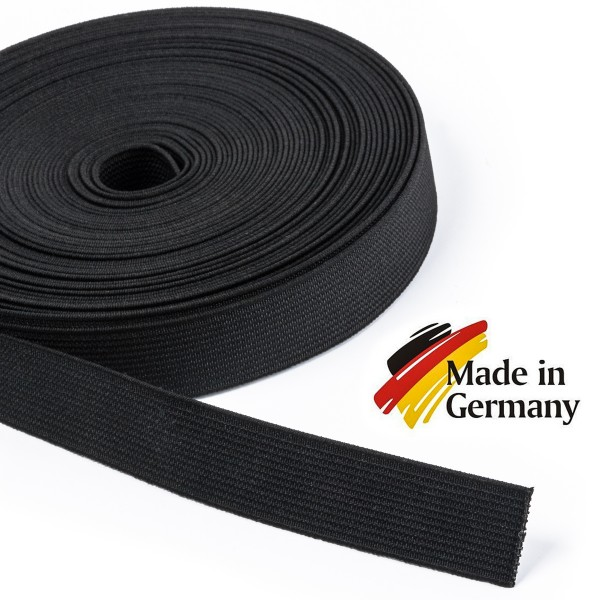 Hochwertiges Elastikband, Hosenband, Gummiband, Flachgummi 20mm