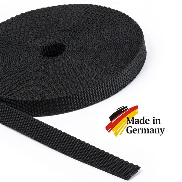 PP-Gurtband, Taschenband, Taschengurt - 1,6mm stark, 15mm breit