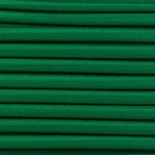 Gummikordel - Hutgummi - Rundgummi, hochwertig, extra-stark in 4mm, grün