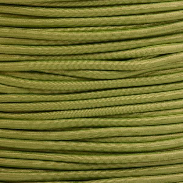 Gummikordel - Hutgummi - Rundgummi, hochwertig, extra-stark in 3mm, hellgrün