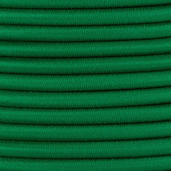 Gummikordel - Hutgummi - Rundgummi, hochwertig, extra-stark in 5mm, grün