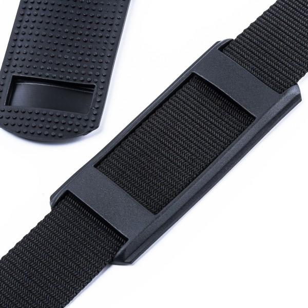 """Schulterpolster """"SPN"""" aus Elastomer für Taschen und Rucksäcke 40mm"""
