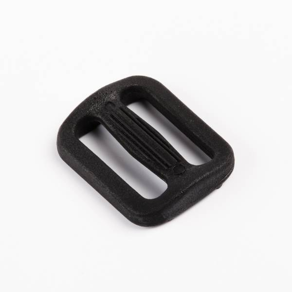 Regulator, Schieber, Versteller aus Nylon, Kunststoff für 20mm Gurtband