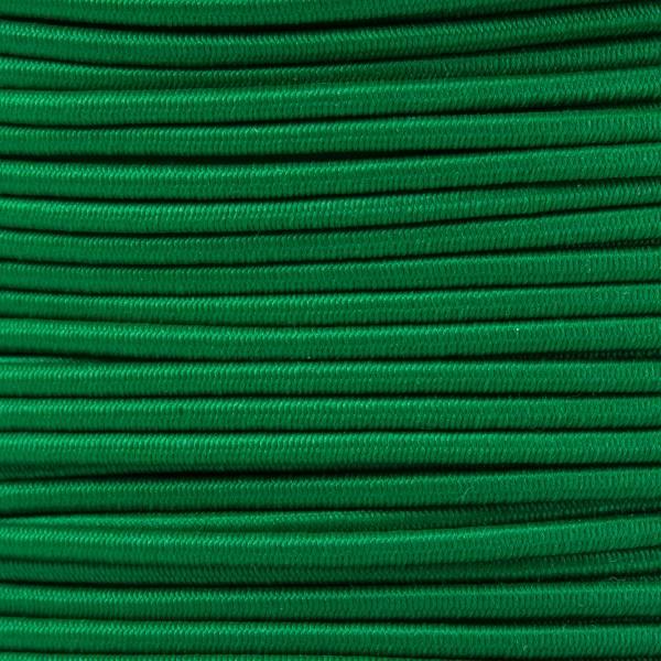 Gummikordel - Hutgummi - Rundgummi, hochwertig, extra-stark in 2mm, grün