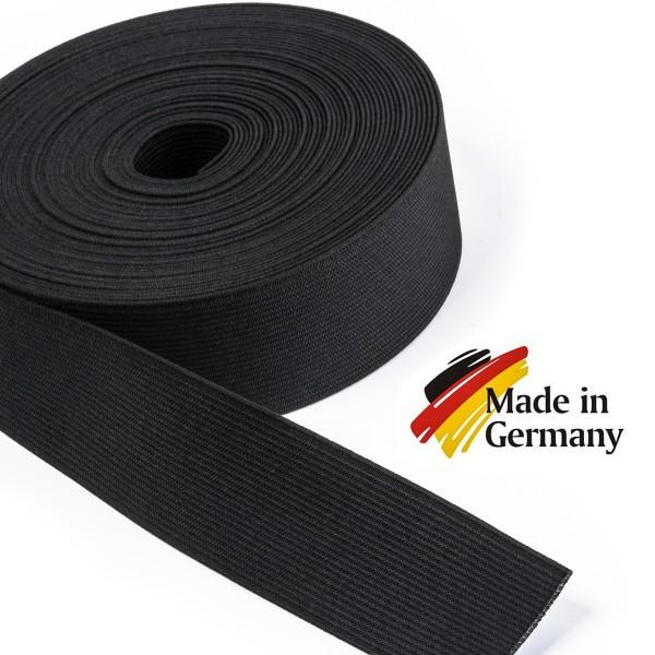 Hochwertiges Elastikband, Hosenband, Gummiband, Flachgummi 40mm
