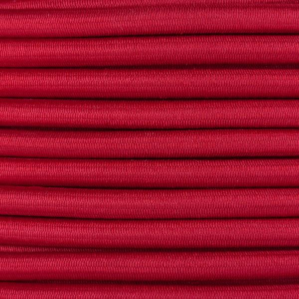 Gummikordel - Hutgummi - Rundgummi, hochwertig, extra-stark in 5mm, rot