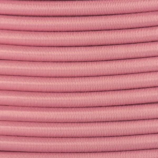 Gummikordel - Hutgummi - Rundgummi, hochwertig, extra-stark in 4mm, rosa