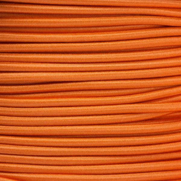 Gummikordel - Hutgummi - Rundgummi, hochwertig, extra-stark in 3mm, orange