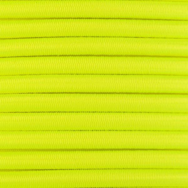 Gummikordel - Hutgummi - Rundgummi, hochwertig, extra-stark in 5mm, neongelb