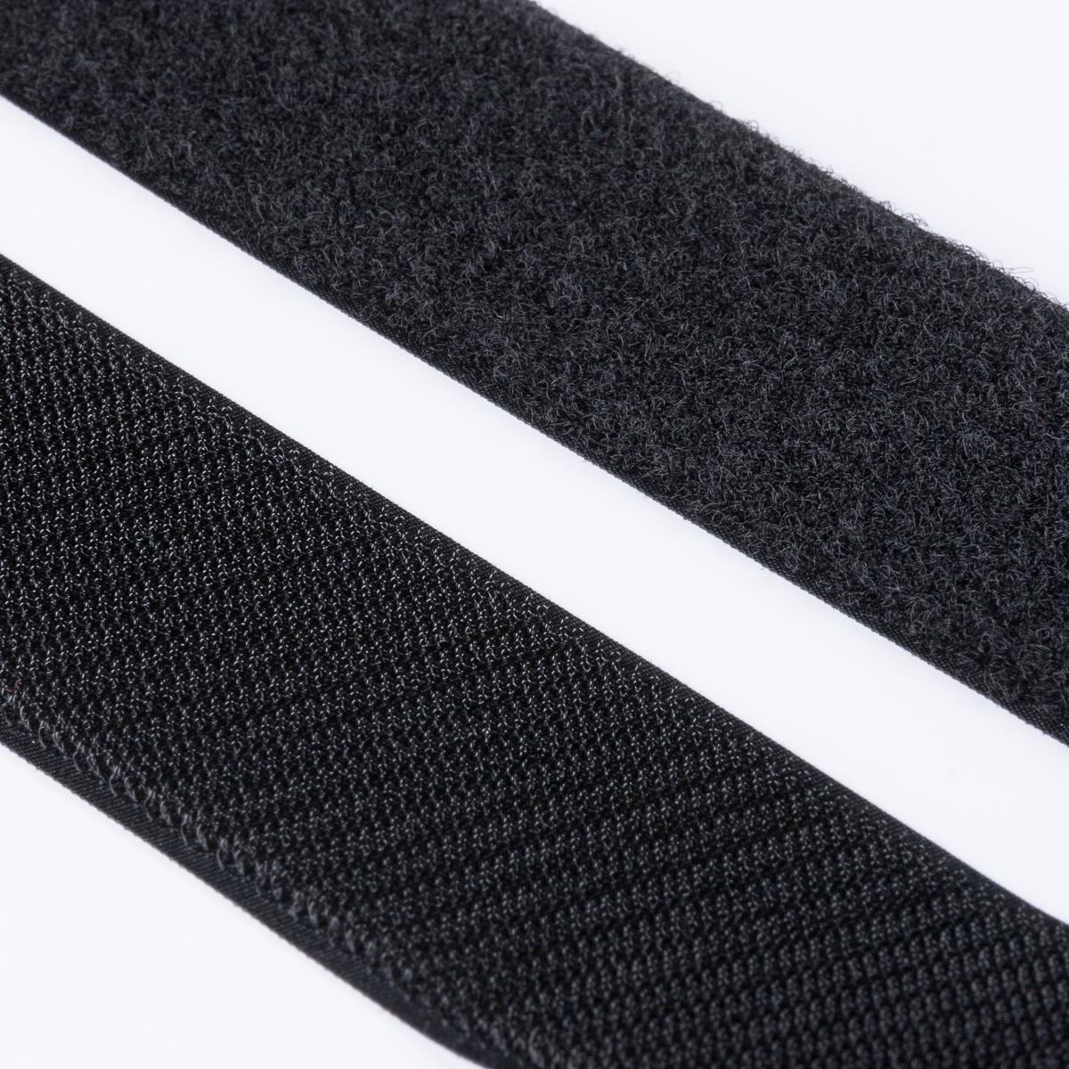klettband haken flausch hochwertig zum aufn hen 50mm schwarz klett zum aufn hen klettband. Black Bedroom Furniture Sets. Home Design Ideas