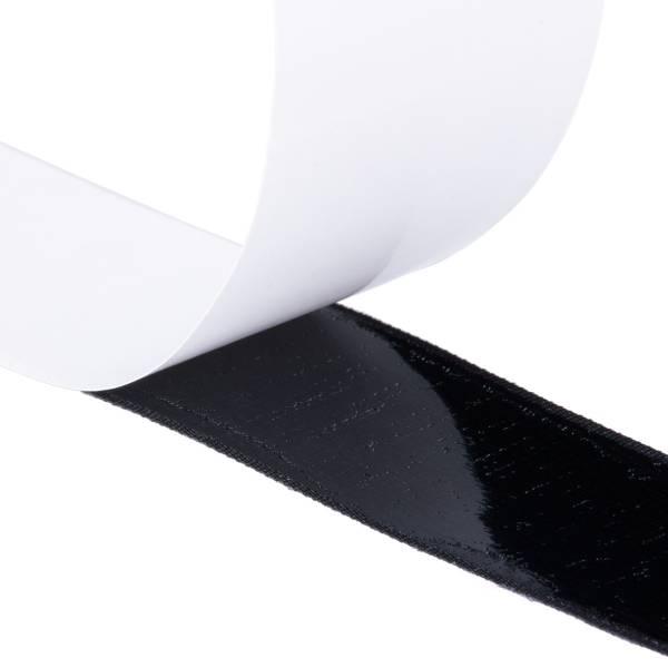Klettband Haken+Flausch , hochwertig, selbstklebend 16mm schwarz