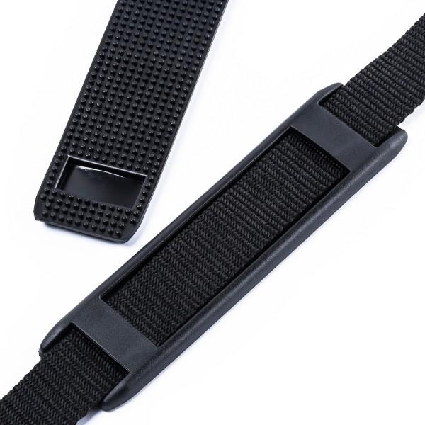 """Schulterpolster """"SPN"""" aus Elastomer für Taschen und Rucksäcke 30mm"""