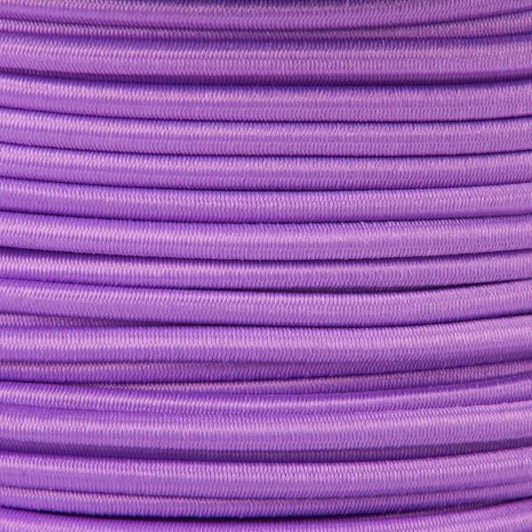 Gummikordel - Hutgummi - Rundgummi, hochwertig, extra-stark in 3mm, lila