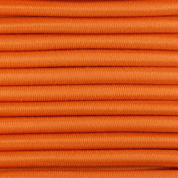 Gummikordel - Hutgummi - Rundgummi, hochwertig, extra-stark in 4mm, orange