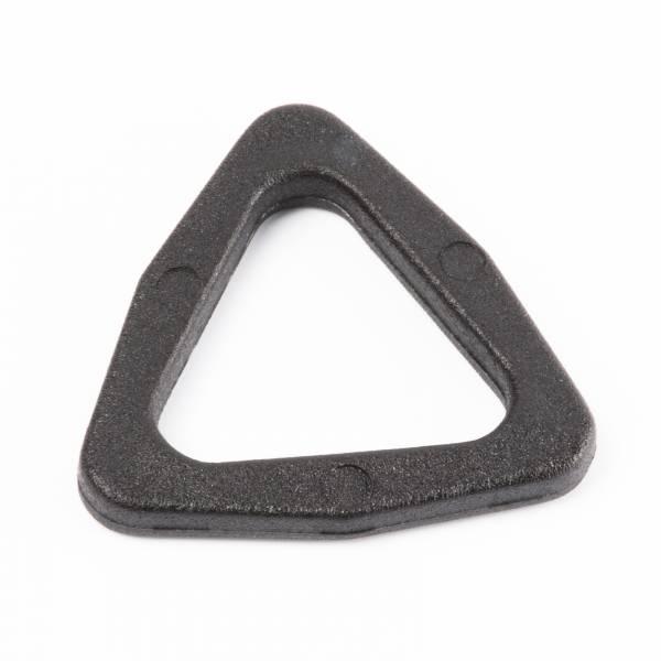 """Stabiler Kunststoff-Dreieck-Ring/Triangel """"TR"""" für 15mm Gurtband"""