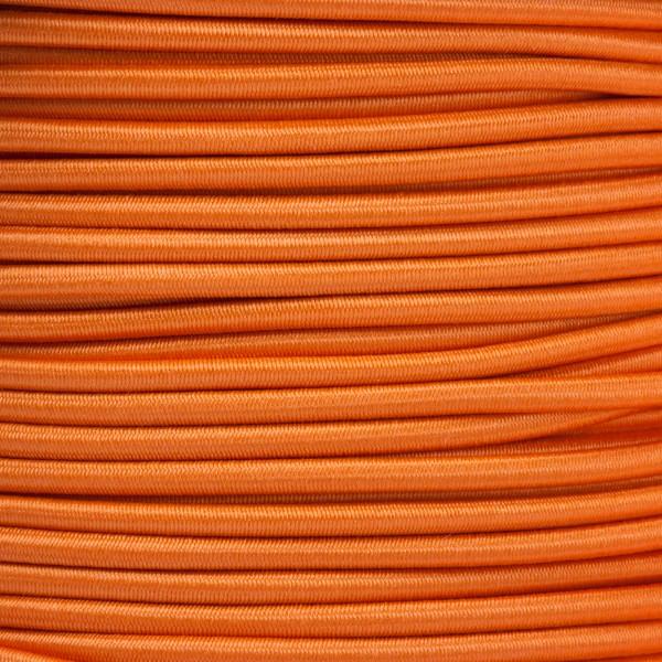 Gummikordel - Hutgummi - Rundgummi, hochwertig, extra-stark in 2,5mm, orange